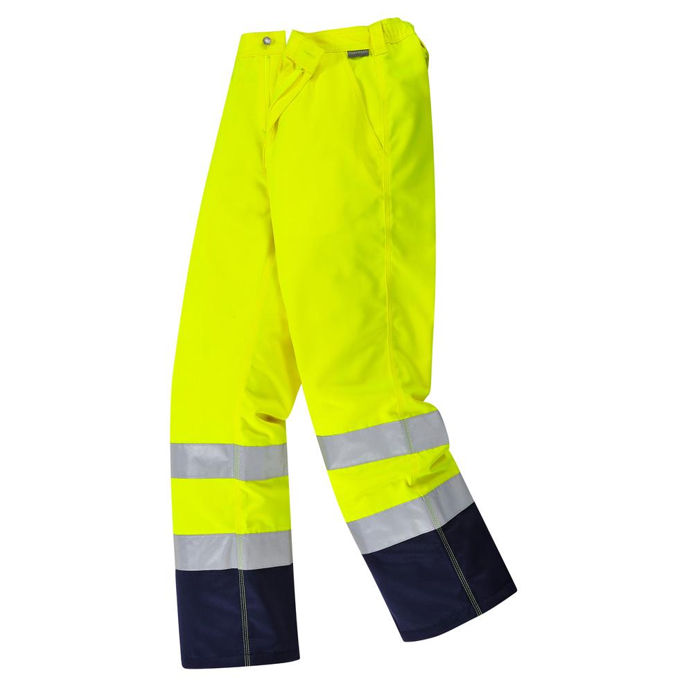 Portwest Calais Hi-Vis Pantalons de travail pantalons-TX71